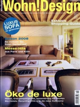 Wohn! Design – Mars / avril 2008